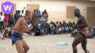 Kickboxing world champion challenges Senegalese wrestlers