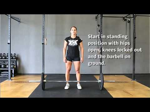 Barbell Ground to Overhead