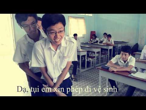 Trở lại thời học sinh với clip của học sinh cuối cấp