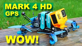 This FPV Drone is Awesome! GEPRC Mark 4 HD GPS - Review