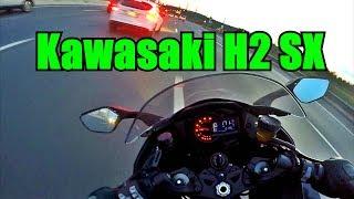 Kawasaki H2 SX. Обзор - тест-райд.