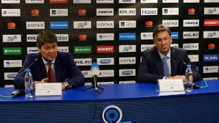 Пресс-конференция после матча «Адмирал»–«Автомобилист»