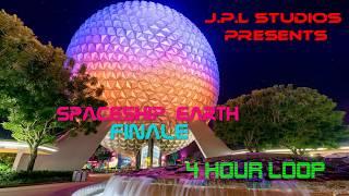 Spaceship Earth Finale ~Exit Music ~ 4 Hour Loop ~ EXTENDED LOOP ~ Epcot - Walt Disney World