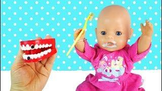 Кукла #Бебибон Готовится ко Сну Чистит Зубки Мультик Для детей Игрушки для девочек