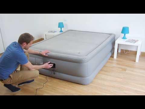 Cama Hinchable Intex Foam Top Bed Fiber Tech 2 personas - 64468