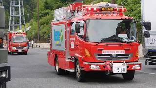和歌山からも被災地へ!西日本豪雨災害で広島県へ派遣される緊急消防援助隊和歌山県隊!!