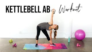 Kettlebell Abs | The BEST Kettlebell Exercises for Abs! by The Live Fit Girl