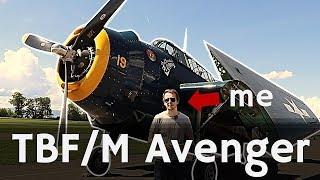 ⚜ | Inside A WW2 Torpedo Bomber   TBFM Avenger