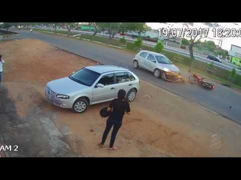 Imprudência no trânsito de Presidente Médici - RO - Gente de Opinião