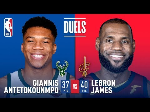 Duel In The Land: King James vs The Greek Freak!