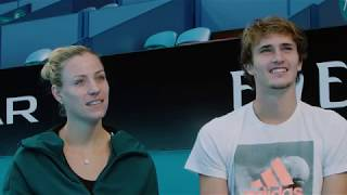Team Germany: How well do you know each other? | Mastercard Hopman Cup 2018