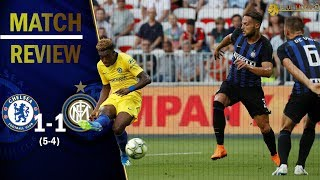CHELSEA 1-1 INTER MILAN    This game showed us WHO IS GOOD ENOUGH for SARRIBALL