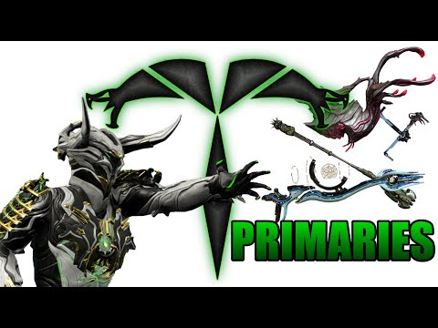 Warframe - Trib Rates EVERY Weapon: Primaries