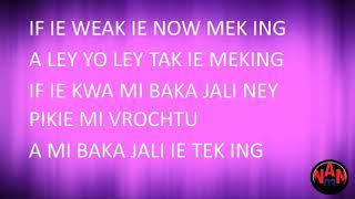 Jackson Blai   Tak Tak San (Lyrics)