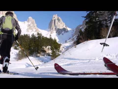 Sports d'hiver dans les stations de la Drôme