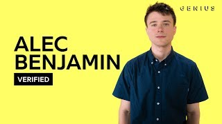 "Alec Benjamin ""Let Me Down Slowly"" Official Lyrics & Meaning 