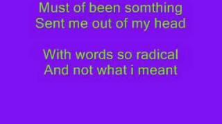These four walls- Miley Cyrus- Lyrics