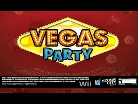 Vegas Party Gameplay Wii