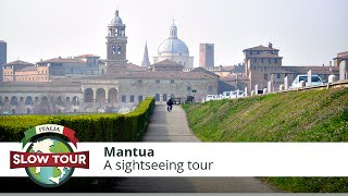 preview picture of video 'Mantua: a sightseeing tour from a balloon | Italia Slow Tour |'