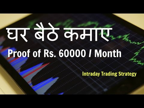 How to Make Money Day Trading with 4 Simple Steps (with Proof of Rs  60000 profit in a Month)