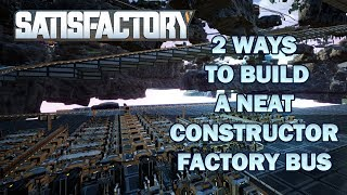 Two Ways to Build a Constructor Factory Bus