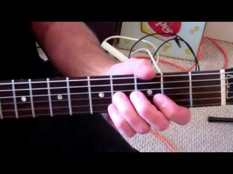A D and E Chords plus GUITAR BOOGIE 12 Bar Blues Chord Progression in the Key of A