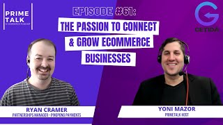 Ryan Cramer | The Passion to Connect & Grow eCommerce Businesses
