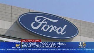 Ford Announces Global Job Cuts