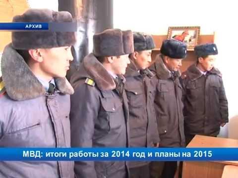 МВД: итоги работы за 2014 год и планы на 2015