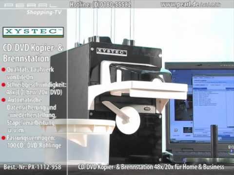 Automatische CD/DVD Kopier- & Brennstation USB 48x/20x (refurbished)
