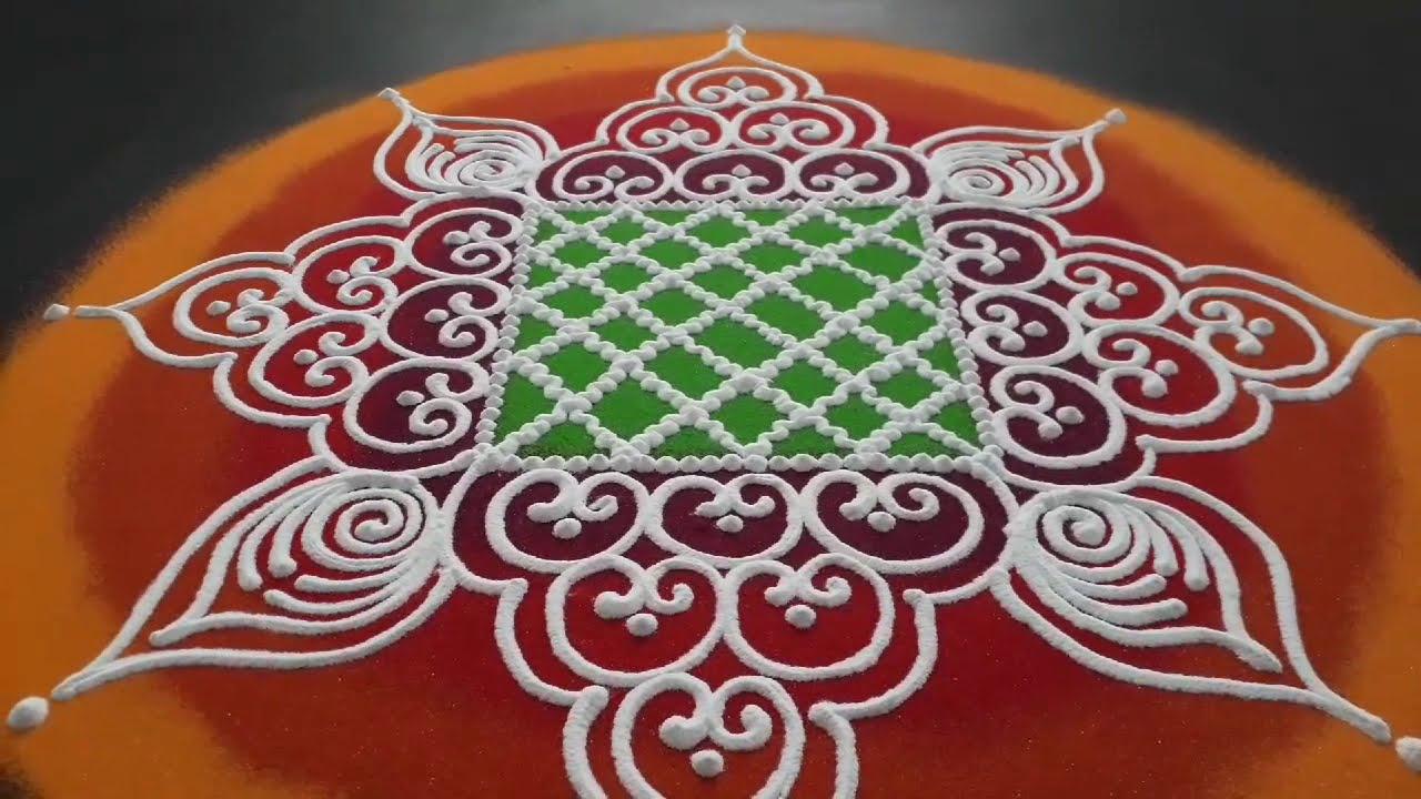 sanskar bharati rangoli design by pranali tulsankar