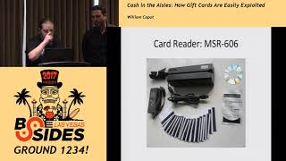G1234! - Cash in the Aisles: How Gift Cards are Easily Exploited - William Caput
