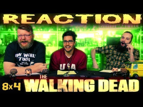 The Walking Dead 8x4 REACTION!!