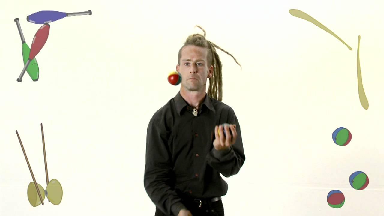 Archi Malabares pelotas: Tres en una mano