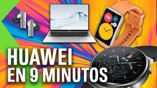 HUAWEI Watch GT 2 Pro, Huawei FreeBuds Pro, Huawei MateBook X - TODAS las Novedades en 9 MINUTOS