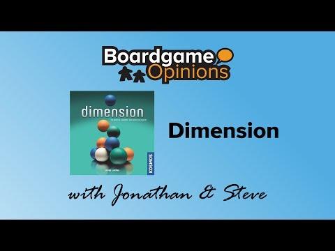 Boardgame Opinions: Dimension