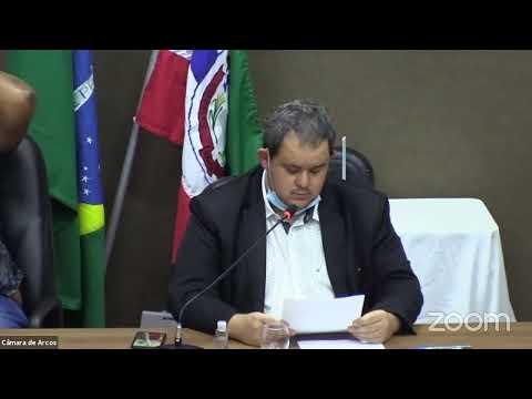 Reunião Ordinária (19/10/2020) - Câmara Municipal de Arcos