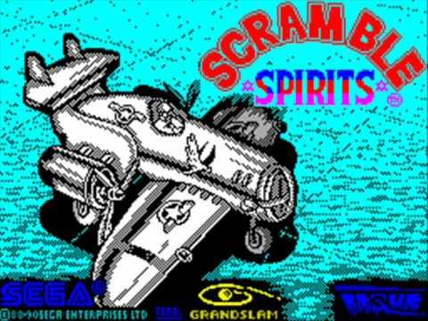 Scramble Spirits Spectrum Title Music