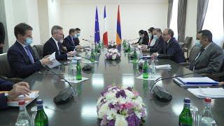 ԱԳ նախարար Արա Այվազյանի հանդիպումը Ֆրանսիայի արտաքին գործերի պետքարտուղար Ժան-Բատիստ Լըմուանի հետ