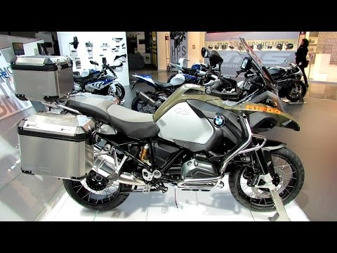 2014 BMW R1200GS Adventure Walkaround