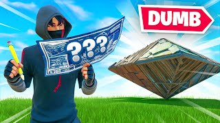 Fortnite BUT dumb builds ONLY