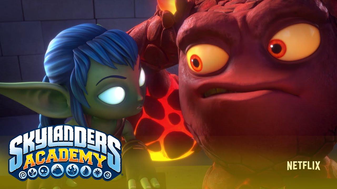 Official Trailer:l Skylander Academy l Skylanders