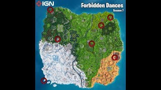 Where Are All The Forbidden Locations In Fortnite Battle Royale