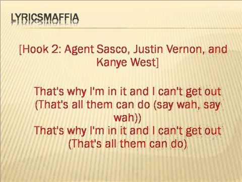 Kanye West - I'm in it (Yeezus) Screen lyrics