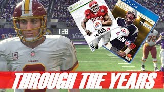 KIRK COUSINS THROUGH THE YEARS - NCAA FOOTBALL 2009 - MADDEN 18