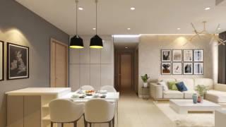 Mẫu thiết kế nội thất chung cư Sarimi Sala 83m2 - Quận 2