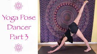 Big Yoga Pose Series #2: Dancer, Part 3 | 15 Minute Live Zoom Class With Jen Hilman