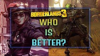 BORDERLANDS 3: Moze The Botjock VS FL4K The Beastmaster - Who Is Better?