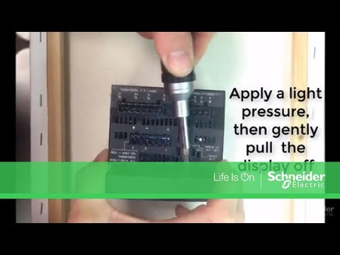 Video: How to replace the integrated display on a PM800 series meter with a PM8D