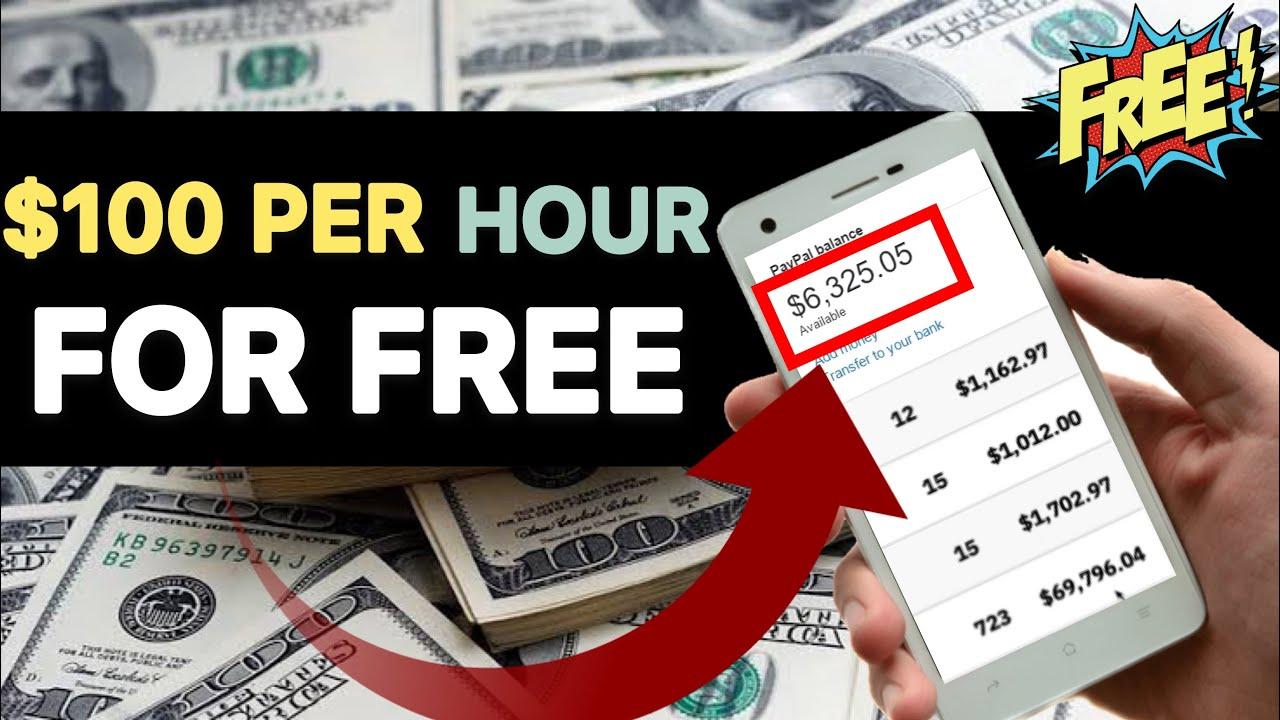 Make $100 Per Hour Online totally free! Earn Money Online FAST! How To Earn Money Online